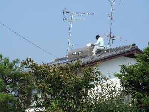 長府太陽熱温水器撤去取り外し,取付取替え工事 エコワイターSW1-231.jpg